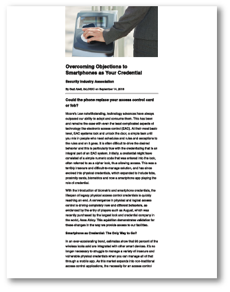 Overcoming Objections to Smartphones as Your Credential