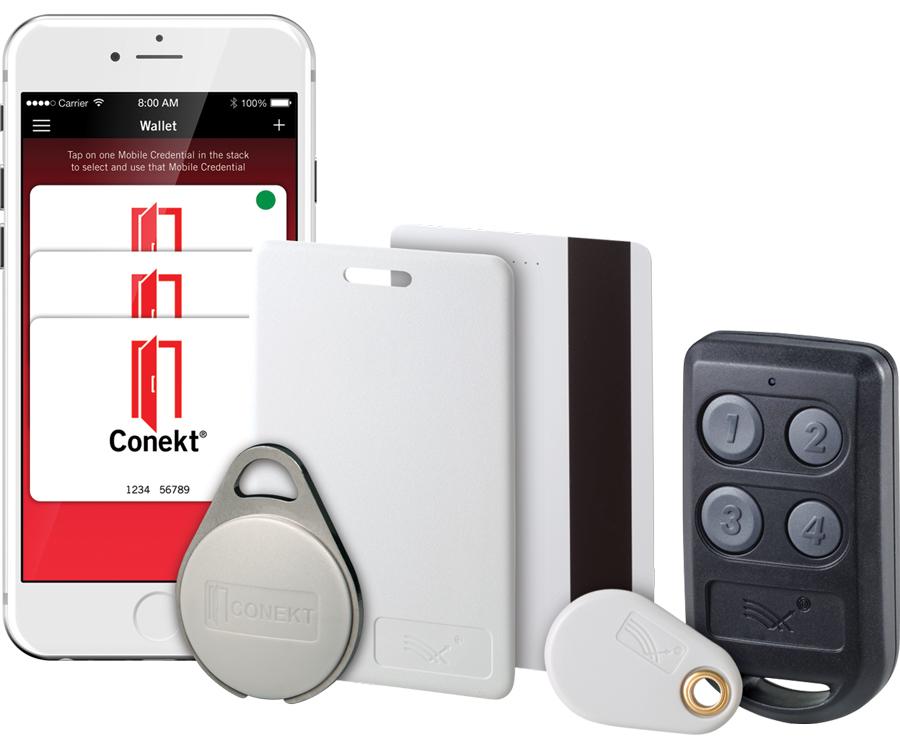 RFID access control credentials
