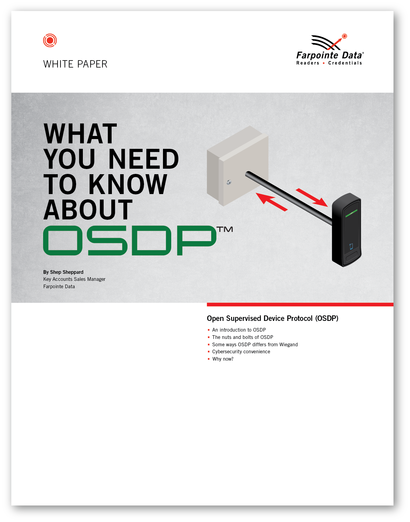 White Paper: What You Need to Know About OSDP